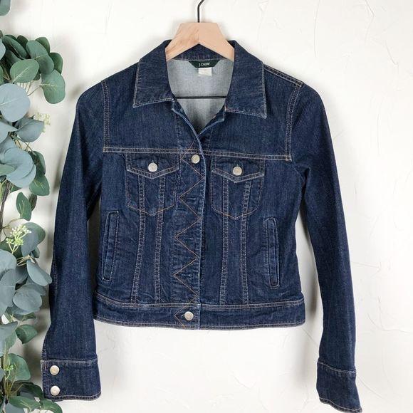 J. Crew Classic Denim Jean Jacket Size XS